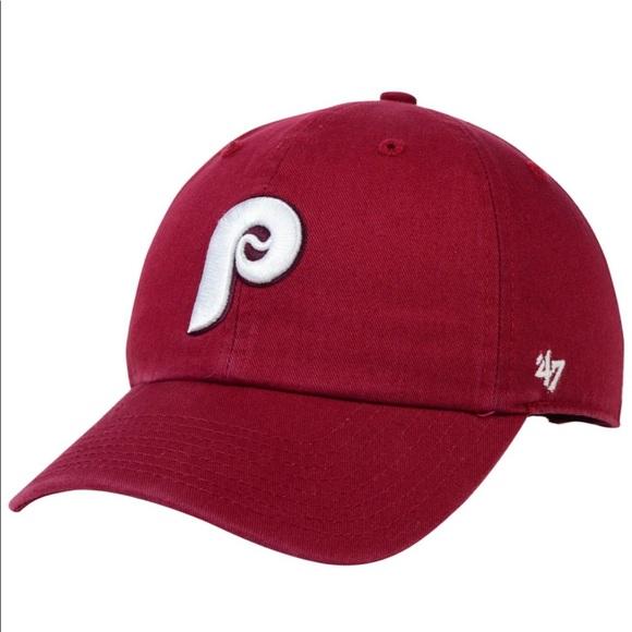 7370304e3 🆕 '47 Brand Philadelphia Phillies Baseball Hat